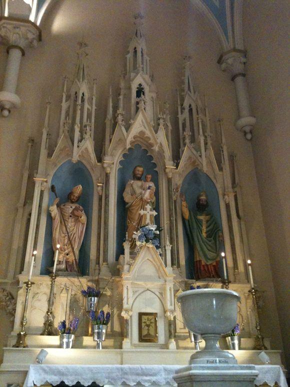The Solemnity of St. Joseph & Patrick's Birthday