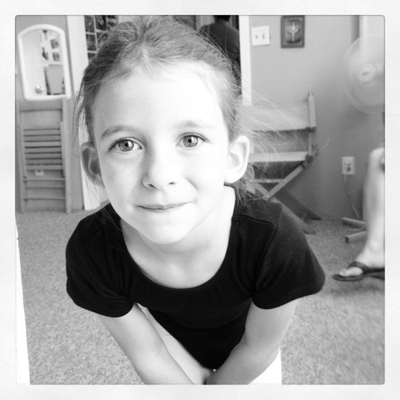 Wordless Wednesday~little girls and ballet